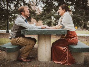 Nicole & Kyle's Intimate Cheesman Park & Brown Palace Wedding in Denver, CO