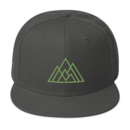 Prevail Snapback (Green Logo)