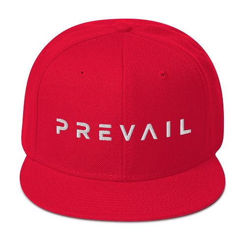 Prevail Snapback (White Prevail)