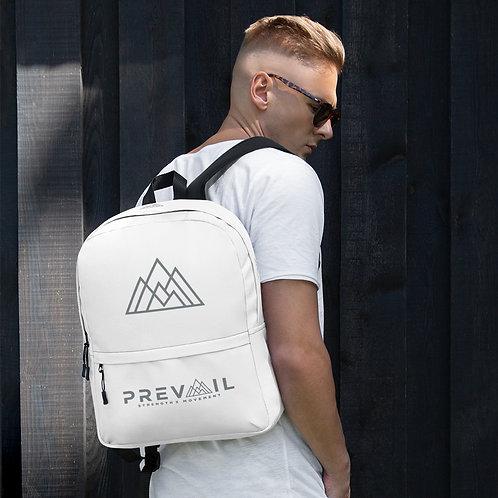 Backpack (White/Gray)