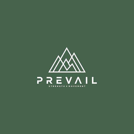 prevail strength x movement logo