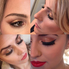 Feeling very excited about creating all the Christmas Makeovers that have come in today 🎄💄✨_A Gold eye was a popular choice last year, works