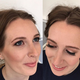 Pretty peachy tones used today on the lovely Chantelle, perfect for a sunny spring day & nude dress 🌺🌸🌷💄☀️🙌🏻#isabellegracemakeupartistry #no