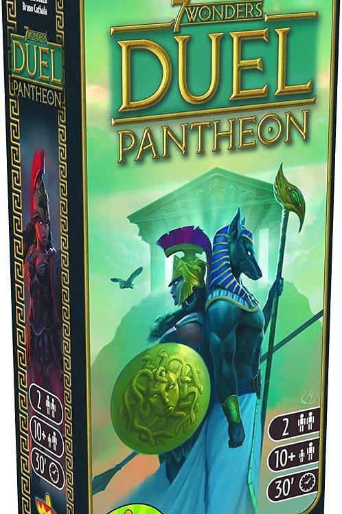 """7 Wonders - le duel - extension """"Panthéon"""""""