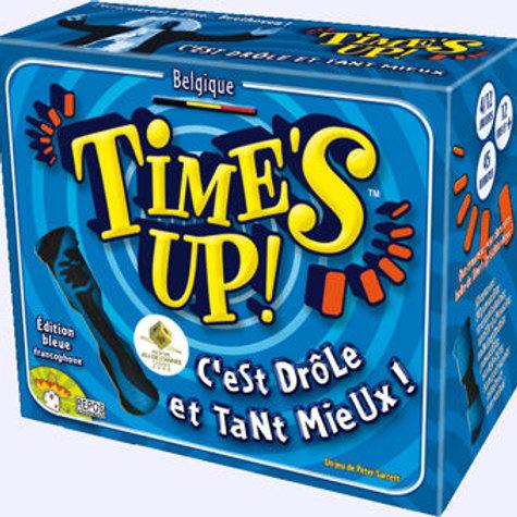 Time's up - bleu