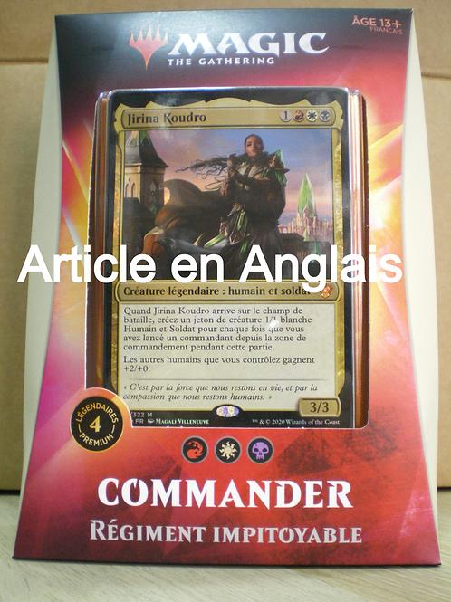Commander 2020 - Régiment impitoyable