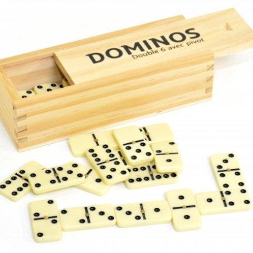 Domino double 6 avec pivot