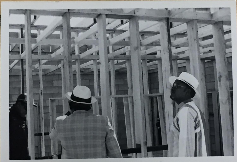 Beginning Phase of Masjid 1981