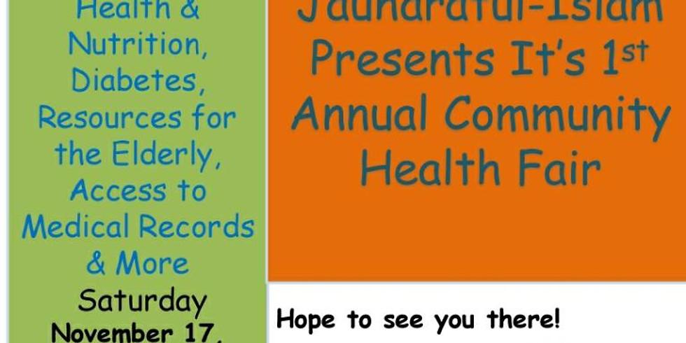 Community Health Fair/ Family Fun Day