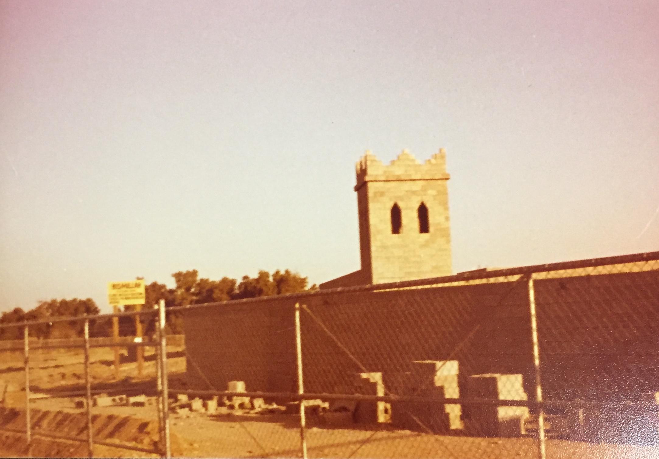 Masjid During Construction