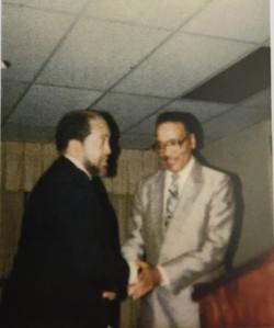 1989 Visit by Imam W.D. Muhammad
