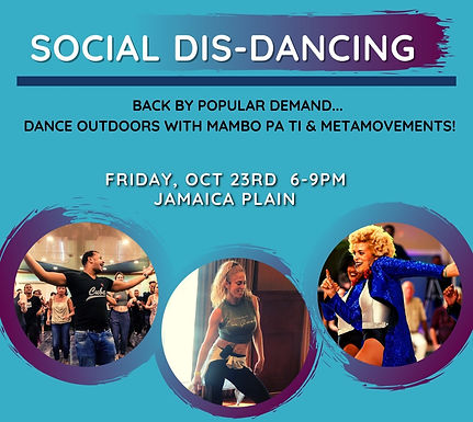 Special Event: Social Dis-Dancing!