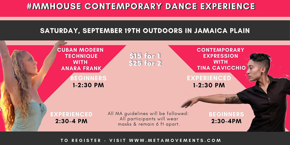 The #MMHouse Contemporary Dance Experience