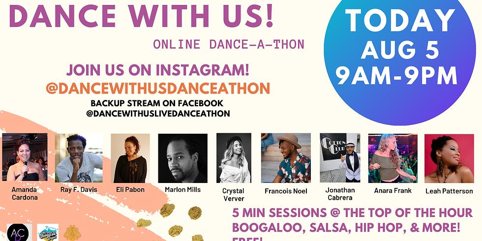 Dance With Us Live Danceathon - Instagram