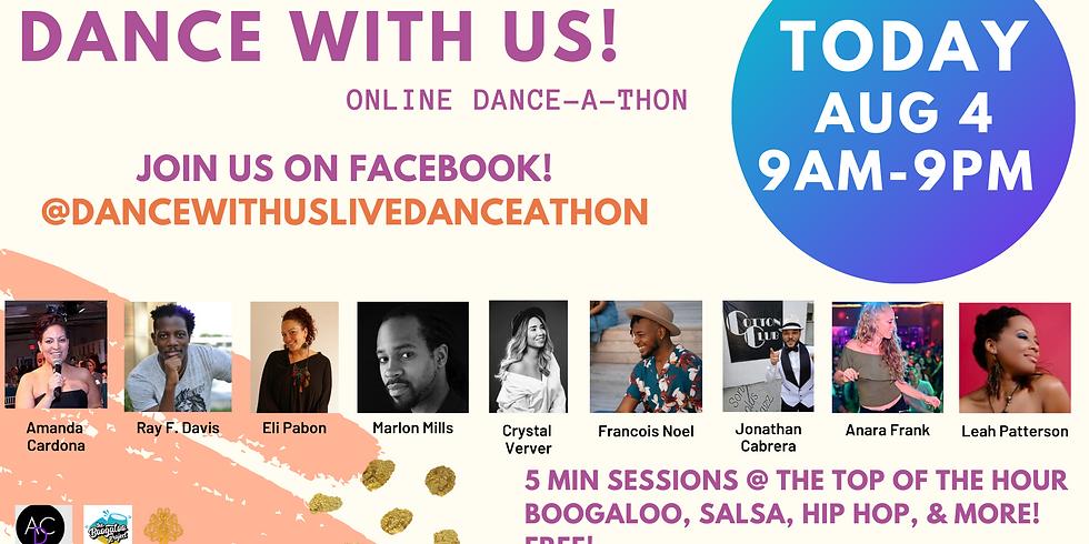 Dance With Us Live Danceathon - Facebook
