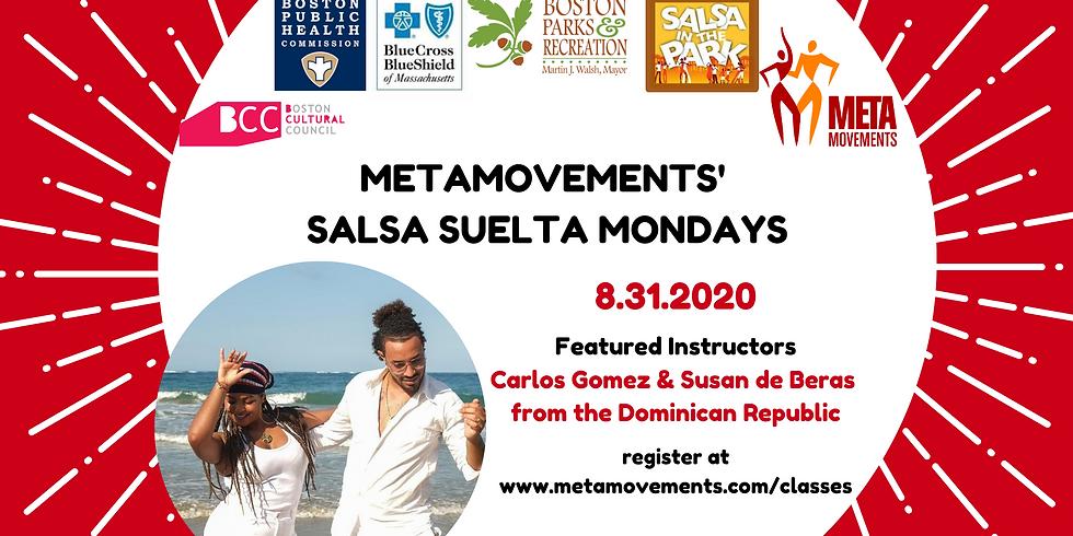 Mondays: Salsa Suelta with MetaMovements!