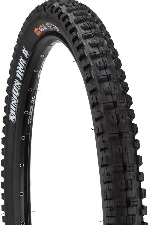 Maxxis Minion DHR II Tire - 29 x 2.4, Folding, Tubeless, Black, 3C Maxx Grip, D