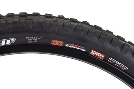 Maxxis Minion DHF Tire - 29 x 2.5, Folding, Tubeless, Black, 3C Maxx Grip, DD, W