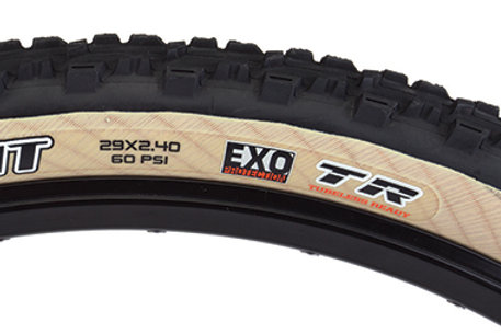 Maxxis Ardent Tire - 29 x 2.4, Folding, Tubeless, Black/Tan, Dual, EXO