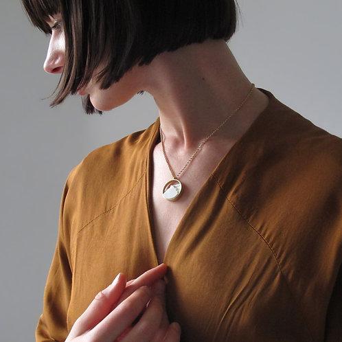 Collar Circular Mini Dorado