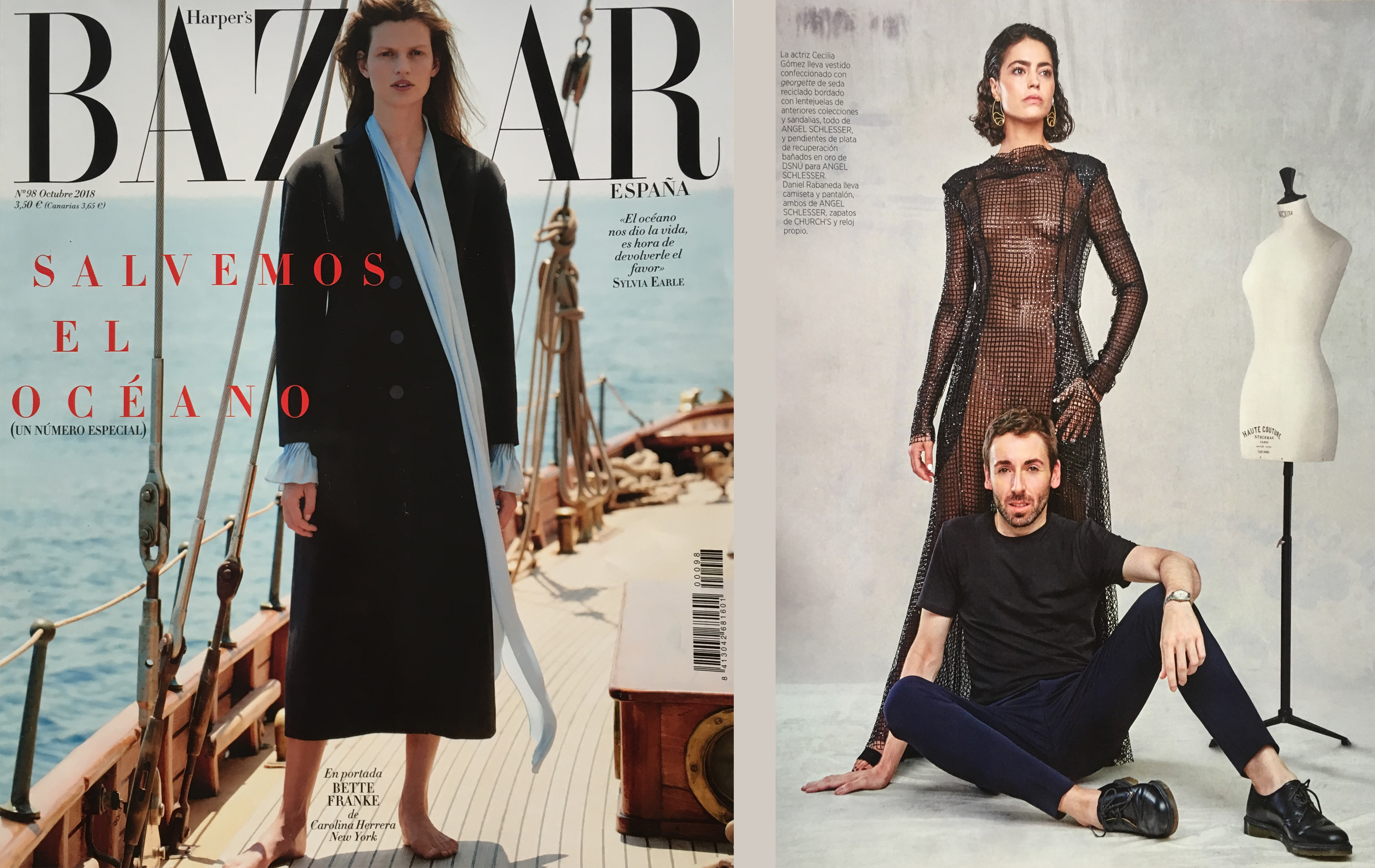 Harper´s Bazaar. Septiembre 2018