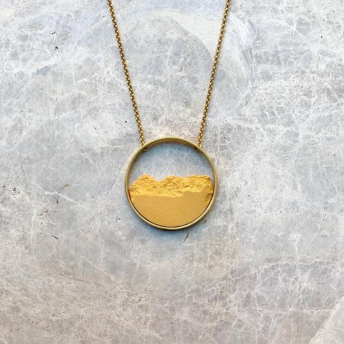 Collar Circular Dorado