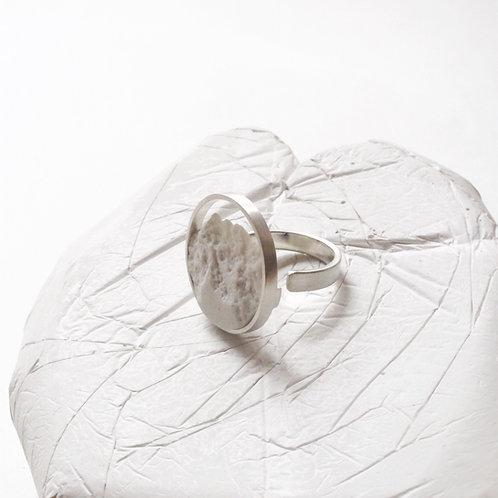 Anillo Circular Plata