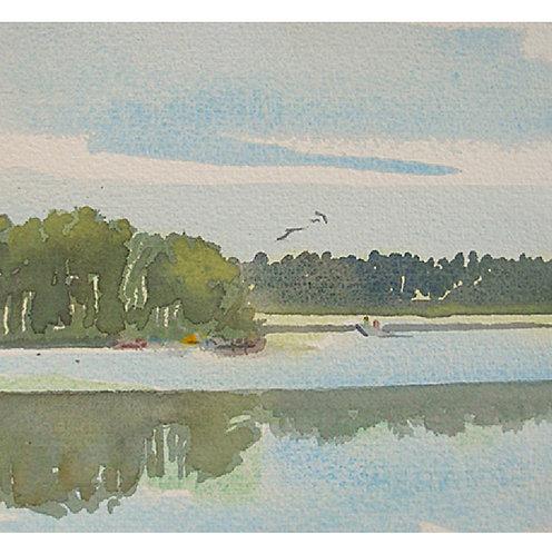Morning on Muskellunge Lake
