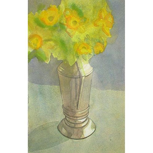 Daffodils Silver Pitcher