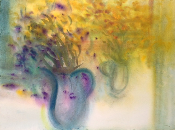 Vessels and Flowers Abstracted 1