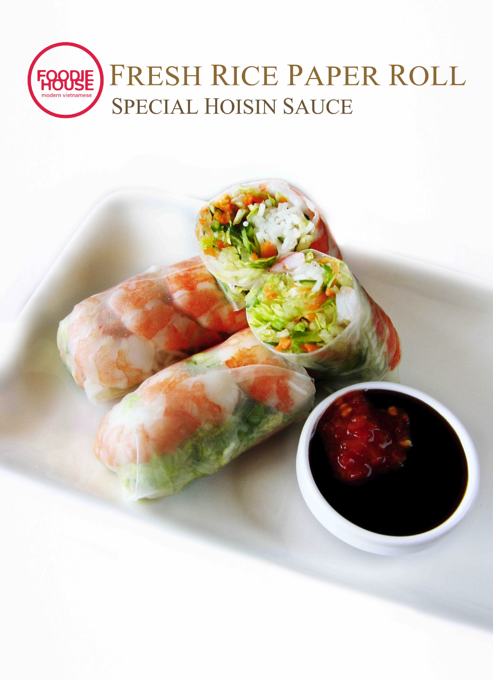 Prawn Rice Paper Roll