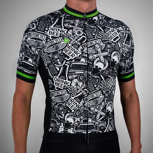 Jersey Ciclismo Elite Manga Corta - Masculino