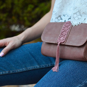 Dusty Pink Belt Bag
