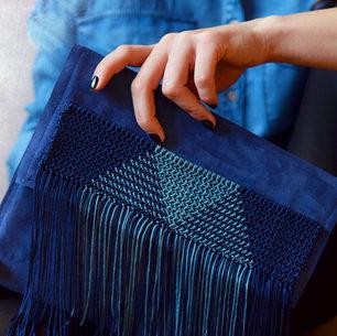 """""""Palamedes"""" Blue Bag"""