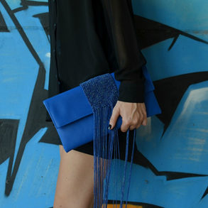 """Palamedes"" Electric Blue Bag"