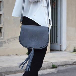 """Morpho"" Grey Bag"