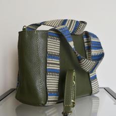 """Eugenia"" Chaki Mini Tote Bag"