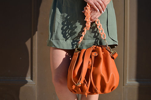 """Ekavi"" Orange Bag"