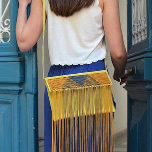 """Palamedes"" Yellow Bag"