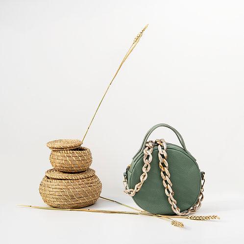 """Iris"" Mint Cross-Body Bag"