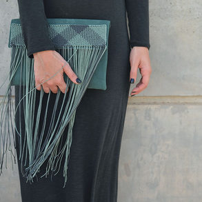 """Palamedes"" Green Bag"