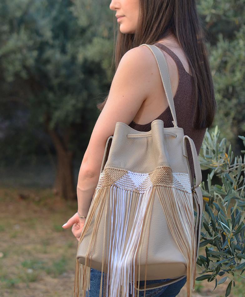 """""""Zenobia"""" Bucket Bag"""