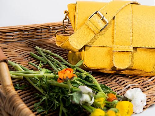 """""""Melitaea"""" Yellow Cross-Body Bag"""