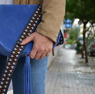 """""""Morpho"""" Ocean Blue Bag"""