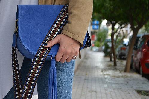"""""""Morpho"""" Ocean Blue Shoulder Bag"""