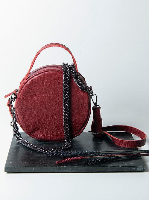"""Iris"" Bordeaux Cross-Body Bag"