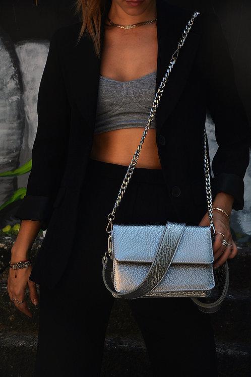 """Papilio"" Silver Bag"