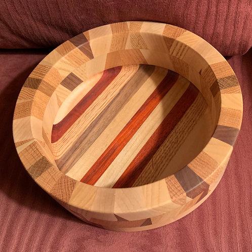 Custom Segmented Bowl