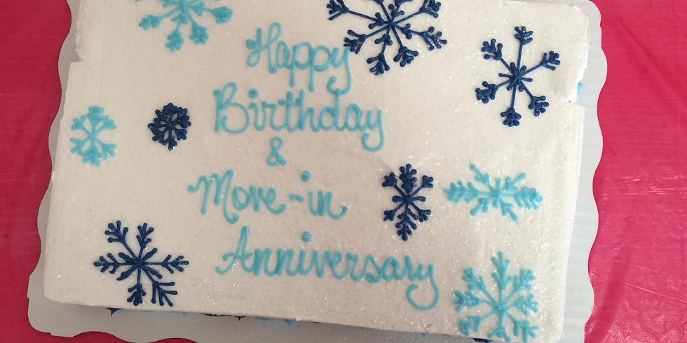 Birthday and Move In Anniversary Bingo Party