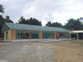 Clubhouse in process